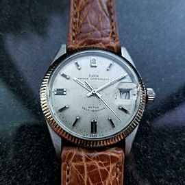 TUDOR Men's Prince Oysterdate ref.7996 Automatic, c.1960s Swiss Vintage LV311TAN