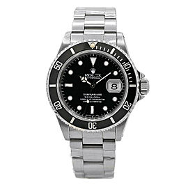 Rolex Submariner Date Stainless Steel w/ Black Dial & Rotatable Bezel 16610