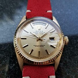 "Men's Rolex 18K Gold ""President"" ref.1803 Day-Date automatic, c.1960s LV886RED"
