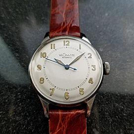 Men's LeCoultre Vintage cal.12A Automatic Field Watch, c.1950s Swiss LV834BRN