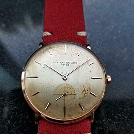 Men's Vacheron & Constantin 18K Rose Gold Vintage 6483 Manual, c.1960s LV658RED