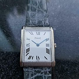Men's Piaget Midsize 18k Gold cal.9P Hand-Wind Dress Watch, c.1970s Swiss LV624