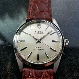 Men's Tudor Oyster Prince ref.90200 Automatic, c.1970s Swiss Vintage LV609BRN