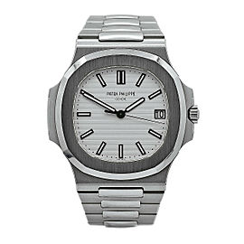 Men's Patek Philippe Nautilus Automatic 40mm, White dial, 5711/1A-011