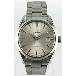 OMEGA SEAMASTER AQUA TERRA 2503.30 AUTOMATIC CO-AXIAL SILVER MENS PRESTIGE WATCH
