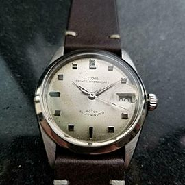 Men's Tudor Prince Oysterdate ref.7996 Automatic, c.1966 Swiss Vintage LV778BRN