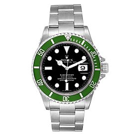 Rolex Submariner 50th Anniversary Green Kermit Mens Watch 16610LV