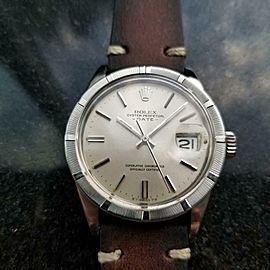 Men's Rolex ref.1501 Oyster Perpetual Date Automatic, c.1970s Vintage LV909BRN