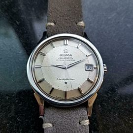 Men's Omega Constellation cal.561 Date Automatic, c.1966 Swiss Vintage LV353GRY