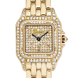 Cartier Panthere De Cartier Gold 22.0mm Women's Watch