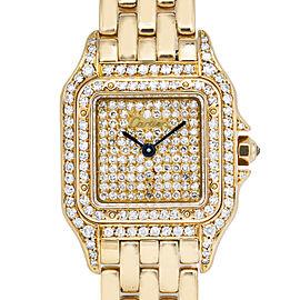 Cartier Panthere De Cartier Gold 22.0mm Women's Watch