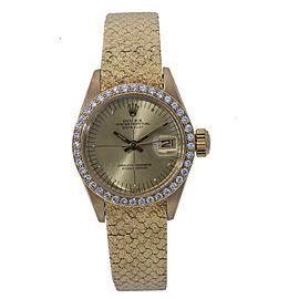 Rolex Datejust 6900 Gold 26.0mm Women's Watch