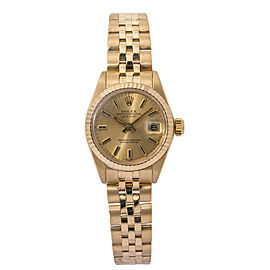 Rolex Datejust 6917 Champagne 26.0mm Women's Watch
