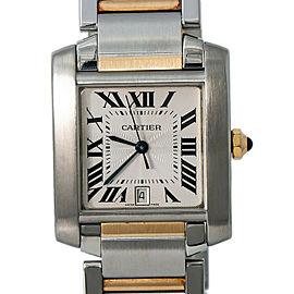 Cartier Tank Francaise W51005Q4 Steel 28.0mm Watch