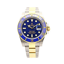 Men's Rolex Submariner Date, 40mm, Steel, 18k yellow gold, Blue Dial, 116613LB