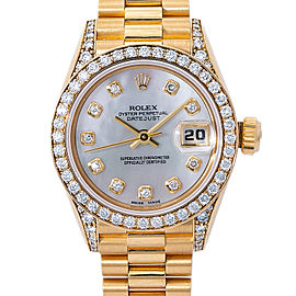 Rolex Datejust 69158 Gold 26.0mm Women's Watch