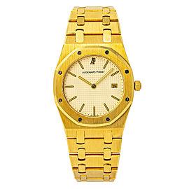 Audemars Piguet Royal Oak NO-REF# Gold 33.0mm Watch