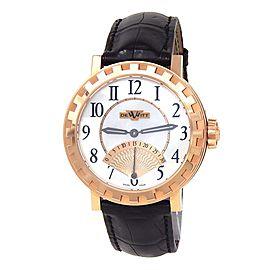 Dewitt Academia Seconde Retrograde 18k Gold MOP Watch AC.1102.53.M652.NE030.53