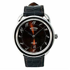 Hermes Arceau AR7.710. Steel 41.0mm Watch
