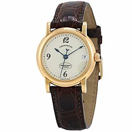 Parmigiani Fleurier Chronometre MODERN 18k Yellow Gold 32.0mm Women's Watch