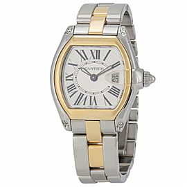 Cartier Roadster W6202674 Steel & 18k Yellow Gold 27.0mm Women's Watch