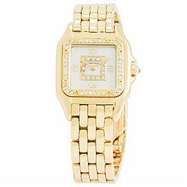 Cartier Panthere De Cartier MODERN 18k Yellow Gold 21.0mm Women's Watch