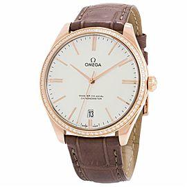 Omega De Ville 432.58.4 18k Rose Gold 40.0mm Women's Watch