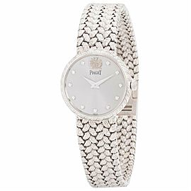 Piaget Vintage 8059ND2 18k White Gold 23.0mm Women's Watch