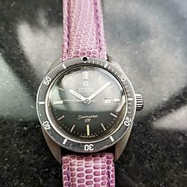Men's Omega Midsize Seamaster 120 Date Automatic, c.1966 Swiss Vintage LV617LAV