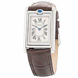 Cartier Tank Basculante 2405 Steel 24.0mm Women's Watch