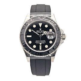 Men's Rolex Yacht-Master, 42mm, 18k White Gold, Black Dial, 226659