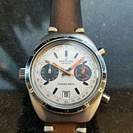 Men's Breitling Chrono-Matic 2112 Chronograph Automatic, c.1970s Vintage MX82BRN