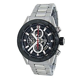Tag Heuer Carrera Stainless Steel Automatic Skeleton Men's Watch CAR201V.BA0714