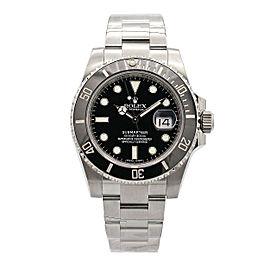 Men's Rolex Submariner Date, 40mm Stainless Steel, Black dial, 116610LN