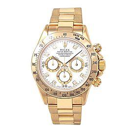 Rolex Daytona (U Serial) 18K Yellow Gold Automatic Men's Watch 16528