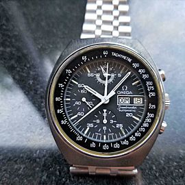 OMEGA Men's Speedmaster Mark 4.5 Automatic 42mm, c.1984 Swiss All Original LV295