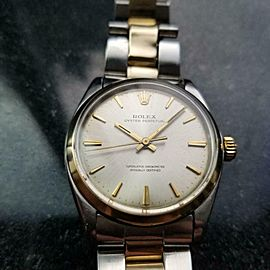 ROLEX Men's Rolex Oyster perpetual 1002 Auto c.1966 Swiss Vintage preowned LV919