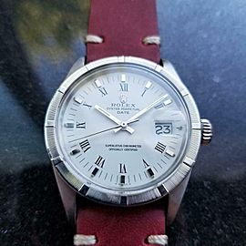 Men's Rolex Oyster Perpetual Date ref.1501 Automatic, c.1970s Vintage MS128RED