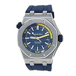 Audemars Piguet Royal Oak Offshore Diver Blue Men's Watch 15710ST.OO.A027CA.01