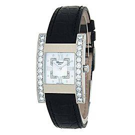Chopard Your Hour 18k White Gold Quartz Ladies Watch 13/6845