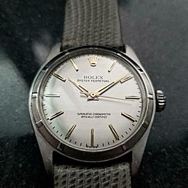 Men's Rolex Oyster Perpetual Ref.6107 34mm Automatic, c.1960s LV903GRY