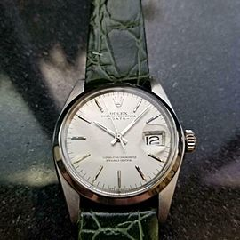 Men's Rolex Oyster Perpetual Date Ref.1501 35mm Automatic, c.1970s LV910GRN