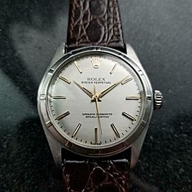 Men's Rolex Oyster Perpetual Ref.6107 34mm Automatic, c.1960s LV903BRN