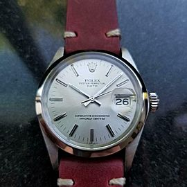 Men's Rolex Oyster Perpetual Date Ref.1500 34mm Automatic, c.1970s LV779RED