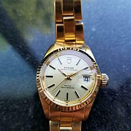 Ladies Tudor Princess Oysterdate Ref.9241 25mm Automatic, c.1970s Vintage LV614