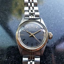 Ladies Rolex Oyster Perpetual Ref.6619 25mm Automatic 18k & ss, c.1970s LV707
