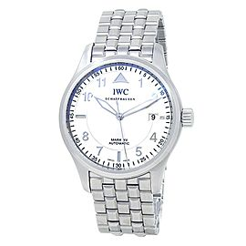 IWC Pilot's Spitfire Mark XV Stainless Steel Auto Silver Men's Watch IW325314