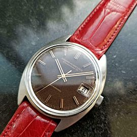 Men's Girard Perregaux Gyromatic 34mm Automatic w/Date, c.1960s LV838RED