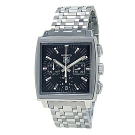 Tag Heuer Monaco Stainless Steel Men's Watch Automatic CW2111-0