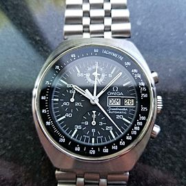 Men's Omega Speedmaster Mark 4.5 Chronograph Ref.176.0012 42mm, 1980s LV291